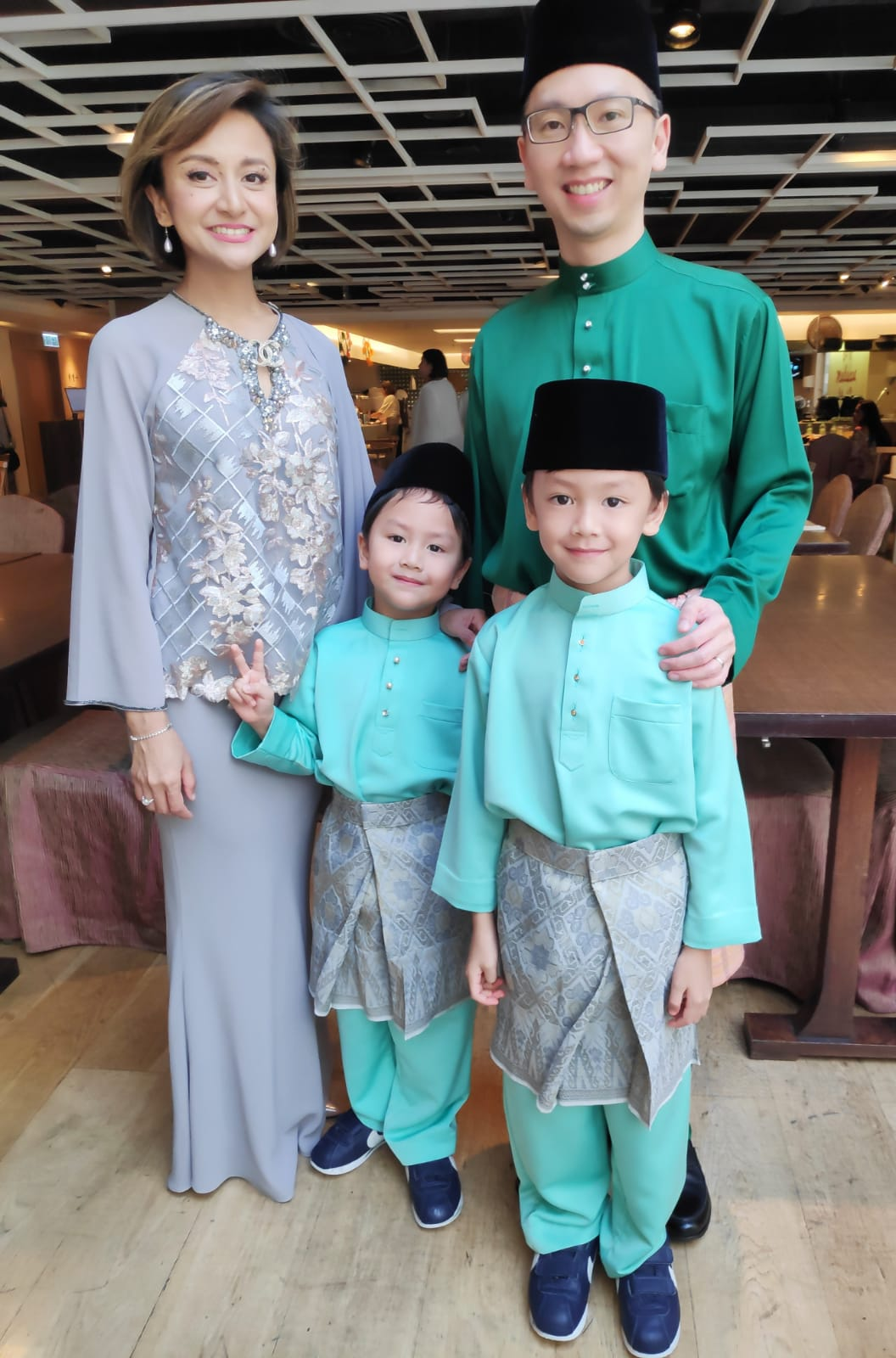 CG Yap and family